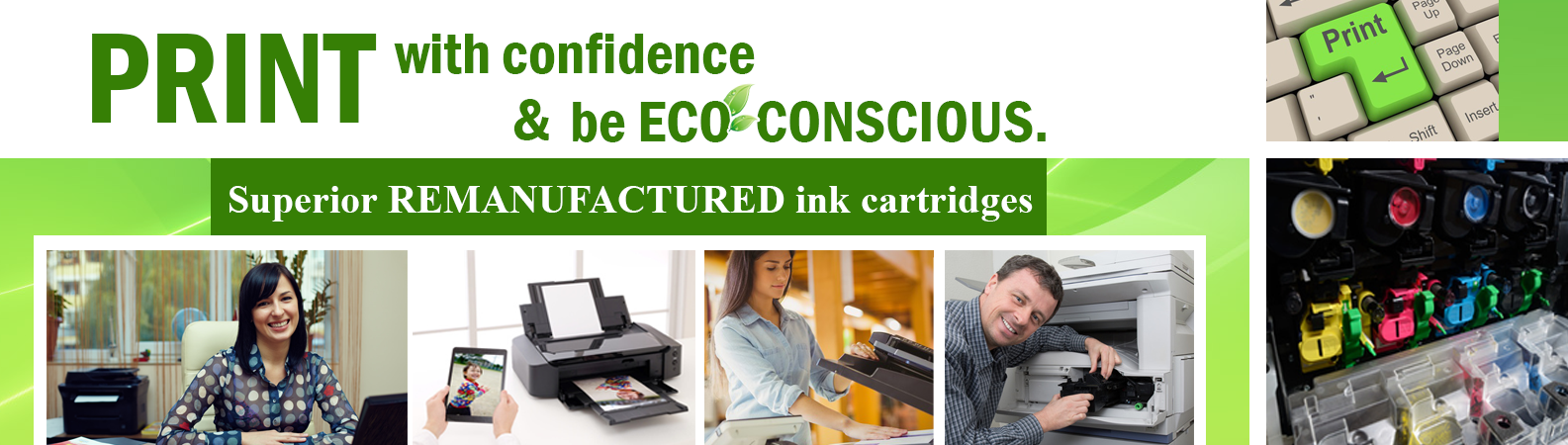 Ink Cartridges be eco-conscious