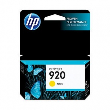 HP 920 Y OEM ORIGINAL YELLOW INKJET CARTRIDGE-1