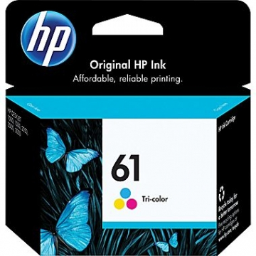 HP 61 CL OEM ORIGINAL COLOR INKJET CARTRIDGE-1