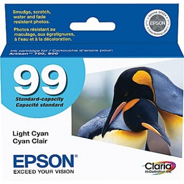 EPSON T099520 OEM ORIGINAL LIGHT CYAN INKJET CARTRIDGE-1