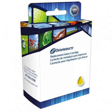 HP 02 Y REM REMANUFACTURED YELLOW INKJET CARTRIDGE-1