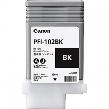 CANON PFI-102BK OEM ORIGINAL BLACK INKJET CARTRIDGE-1