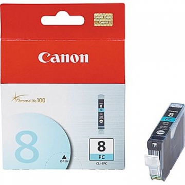 CANON CLI-8PC OEM ORIGINAL PHOTO CYAN INKJET CARTRIDGE-1