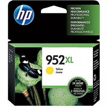 HP 952XL Y OEM ORIGINAL YELLOW INKJET CARTRIDGE-1