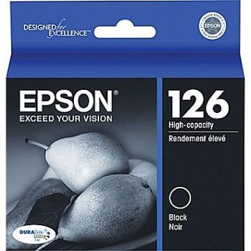 EPSON T126120 OEM ORIGINAL BLACK INKJET CARTRIDGE-1