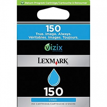 LEXMARK 150 C OEM ORIGINAL CYAN INKJET CARTRIDGE-1