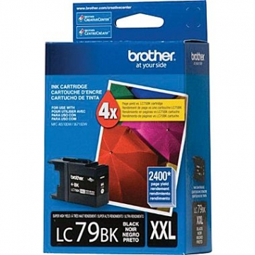 BROTHER LC79BK OEM ORIGINAL BLACK INKJET CARTRIDGE-1