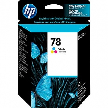 HP 78 CL OEM ORIGINAL COLOR INKJET CARTRIDGE-1
