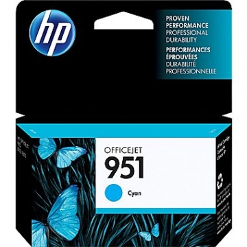 HP 951 C OEM ORIGINAL CYAN INKJET CARTRIDGE-1