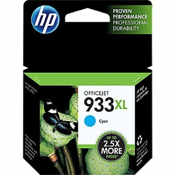 HP 933XL C OEM ORIGINAL CYAN INKJET CARTRIDGE-1