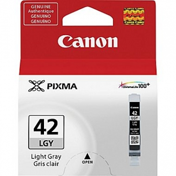 CANON CLI-42LGY OEM ORIGINAL LIGHT GRAY INKJET CARTRIDGE-1