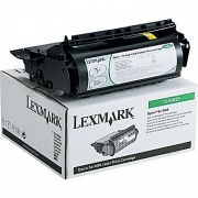 LEXMARK 12A0825 OEM ORIGINAL BLACK TONER CARTRIDGE