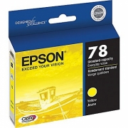 EPSON T078420 OEM ORIGINAL YELLOW INKJET CARTRIDGE