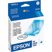 EPSON T060220 OEM ORIGINAL CYAN INKJET CARTRIDGE