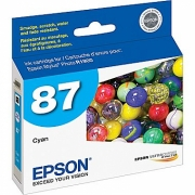 EPSON T087220 OEM ORIGINAL CYAN INKJET CARTRIDGE