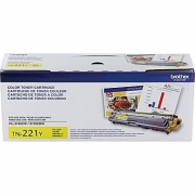 BROTHER TN-221Y OEM ORIGINAL YELLOW TONER CARTRIDGE STANDARD YIELD