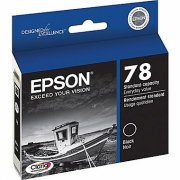 EPSON T078120 OEM ORIGINAL BLACK INKJET CARTRIDGE