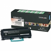 LEXMARK X264H11G OEM ORIGINAL BLACK TONER CARTRIDGE