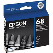 EPSON T068120 OEM ORIGINAL BLACK INKJET CARTRIDGE