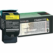 LEXMARK C540H1YG OEM ORIGINAL YELLOW TONER CARTRIDGE