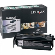 LEXMARK 12A8425 OEM ORIGINAL BLACK TONER CARTRIDGE