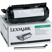 LEXMARK 12A6835 OEM ORIGINAL BLACK TONER CARTRIDGE