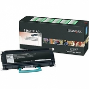 LEXMARK E360H11A OEM ORIGINAL BLACK TONER CARTRIDGE