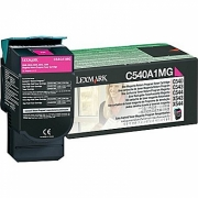 LEXMARK C540A1MG OEM ORIGINAL MAGENTA TONER CARTRIDGE